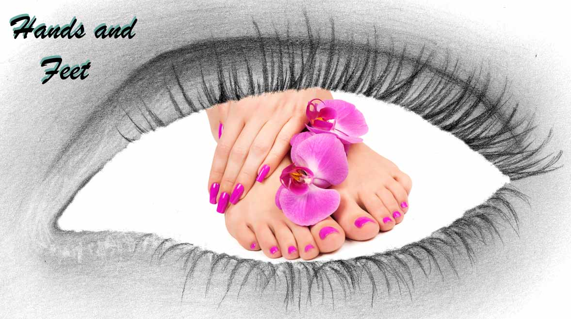 hands and feet treatment at total image salon